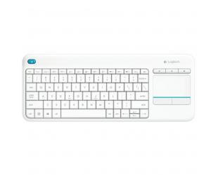 Belaidė klaviatūra LOGITECH K400Touch, balta