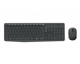 Belaidė klaviatūra+pelė LOGITECH MK235, RU