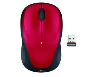 Belaidė pelė LOGITECH m235, raudona