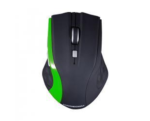 Belaidė pelė MODECOM WM5, juoda/žalia