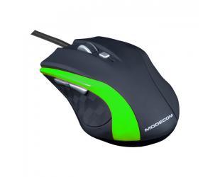 Optinė pelė MODECOM M5, juoda/žalia