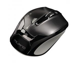 Belaidė optinė pelė HAMA Milano, juoda