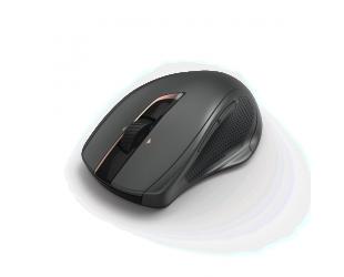 Lazerinė belaidė pelė HAMA MW-800, juoda