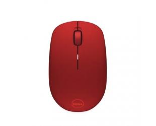 Belaidė optinė pelė Dell WM126, raudona
