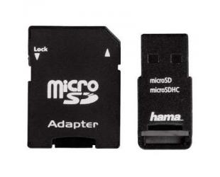 Adapteris HAMA USB 2.0 SD/MICRO SD