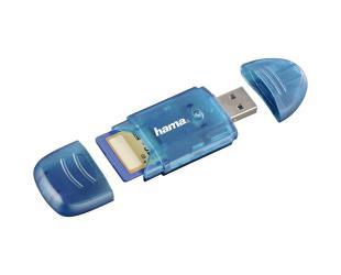 Kortelių skaitytuvas HAMA SD/MMC 6in1, mėlynas