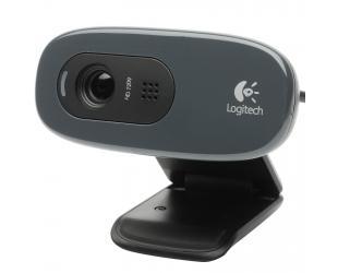 Web kamera LOGITECH C270, pilka