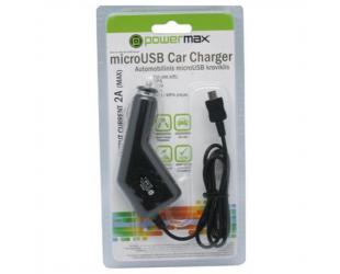 USB įkroviklis POWERMAX PPC005 12V, 5V/2A