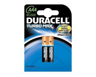 Elementai DURACELL TurboMax 2 pak. LR03 AAA
