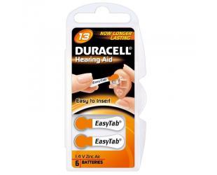 Elementai klausos aparatui DURACELL DA13 N6