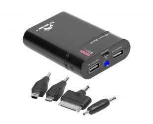 Išorinė baterija (power bank) TRACER, 8400mAh, juodas, 2.1A