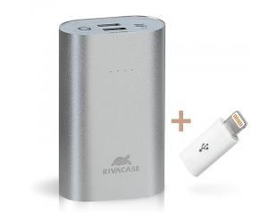 Išorinė baterija (power bank) RIVAPOWER VA1010, 10000 mAh