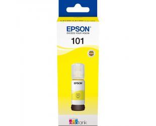 Rašalinė EPSON 101Y, geltonos spalvos