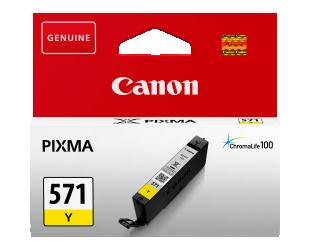Rašalinė CANON CLI-571Y XL, geltona