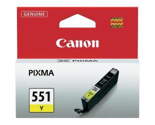Rašalinė CANON CLI-551Y, geltona