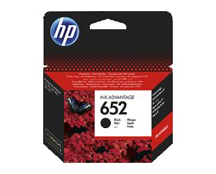 Rašalinė HP 652, juoda