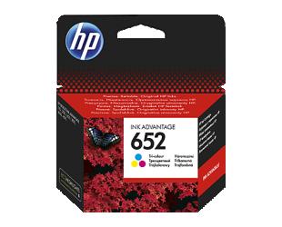 Rašalinė HP 652, spalvota