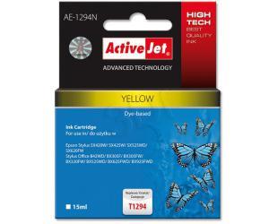 Rašalinė ACTIVEJET T1294, geltona