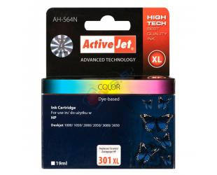 Rašalinė ACTIVEJET AH-564N HP-301XL, spalvota