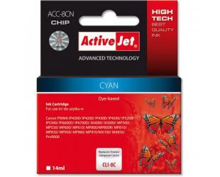 Rašalinė ACTIVEJET CLI-8C, melsva