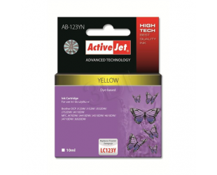 Rašalinė ACTIVEJET AB-123YN, geltona
