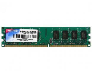 Operatyvioji atmintis PATRIOT 2GB DDR2 PC6400 800MHz DIMM