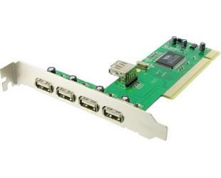 Kontroleris 4WORLD PCI į USB 2.0, 02997