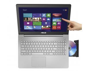 """Nešiojamas kompiuteris ASUS N550 15"""" FHD TOUCH i7-4700 8GB 1TB 850M Windows 10"""