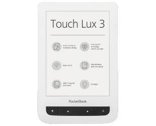 Elektroninė knygų skaityklė POCKETBOOK Touch Lux 3 626 6'' 4GB WIFI, balta