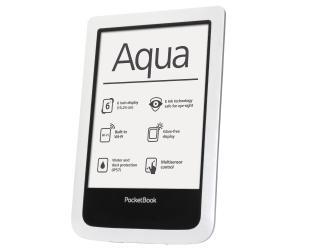 """Elektroninė knygų skaityklė POCKETBOOK Aqua 6"""" 4GB,  atspari vandeniui ir dulkėms, balta"""
