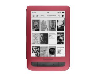 Elektroninė knygų skaityklė POCKETBOOK Touch Lux 3 626 6'' 4GB WIFI, raudona