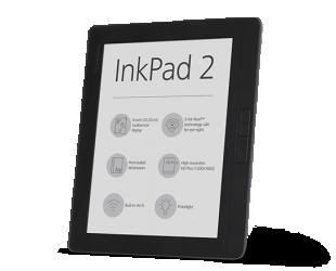 """Elektroninė knygų skaityklė POCKETBOOK InkPad2 PB840 8"""" 4GB"""