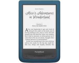 """Elektroninė knygų skaityklė POCKETBOOK Aqua 2 6"""" 8GB, atspari vandeniui ir dulkėms, mėlyna"""