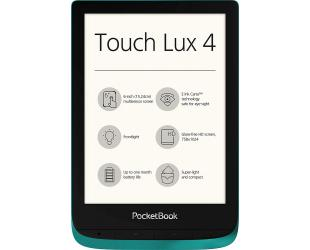 Skaityklė POCKETBOOK TouchLux 4 PB627 WIFI 6'' 8GB Emerald