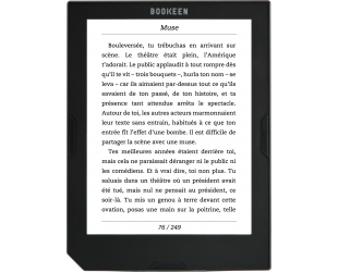 Elektroninė knygų skaityklė BOOKEEN Cybook Muse Frontlight 6'' touch 4GB