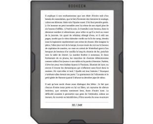 Elektroninė knygų skaityklė BOOKEEN Cybook Muse HD 6'' touch 8GB
