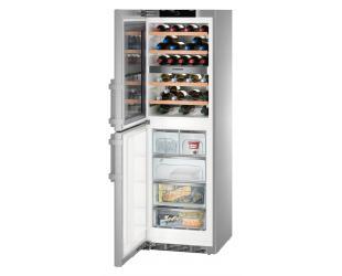 Vyno šaldytuvas su šaldikliu LIEBHERR SWTNes 4285 PremiumPlus NoFrost, 185cm