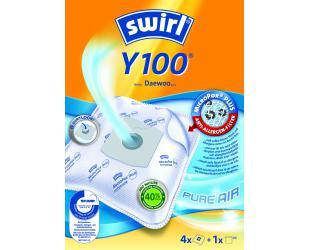 Dulkių siurblio maišeliai SWIRL Y100/4 MP Plus