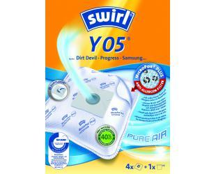 Dulkių siurblio maišeliai SWIRL Y05/4 MP Plus