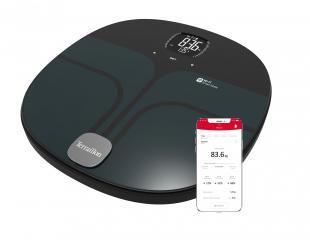 Svarstyklės TERRAILLON 14682 Master Coach, kūno analizatorius, KMI, Wi-Fi Smart, 180kg /100g.