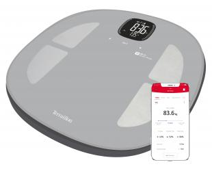 Svarstyklės TERRAILLON 14710 Master Fit, kūno analizatorius, KMI, Wi-Fi Smart, 180kg /100g.