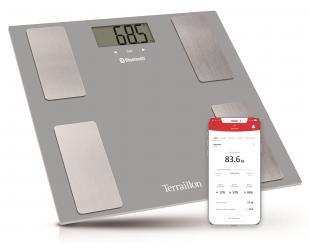 Svarstyklės TERRAILLON 14754 Smart Connect, kūno analizatorius, KMI, Bluetooth, 160kg /100g.