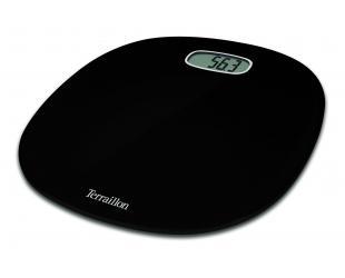 Svarstyklės TERRAILLON 14242 Pop First Black, 160kg /100g.