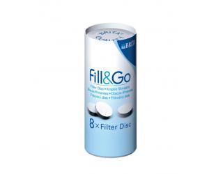 Filtravimo diskas BRITA Fill & Go (8 vnt)