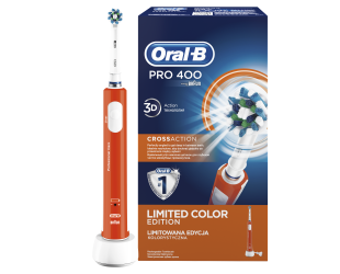 Dantų šepetėlis ORAL-B D16 /Pro400 Cross Action Orange