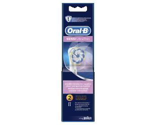 """Dantų šepetėlio antgaliai ORAL-B EB 60-2  """"Sensitive"""""""