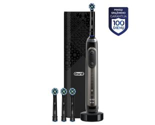 Dantų šepetėlis ORAL-B Genius X 20000N Anthracite Grey D706.546.6X Luxe Edition