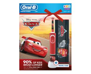 "Dantų šepetėlis ORAL-B Vitality 100 Kids D100.413.2K ""Cars"" + dėklas"
