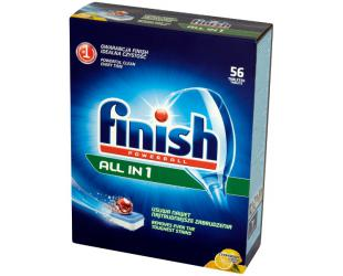 Indaplovių tabletės FINISH Allin1 Powerball Lemon