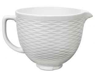 Keramikinis indas KITCHENAID 5KSMCB5TLW, su 3D raštu